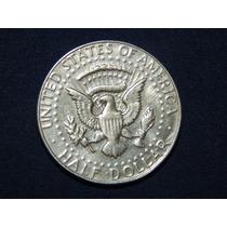 Moneda De Plata Kenedy 1966 Medio Dolar De Plata
