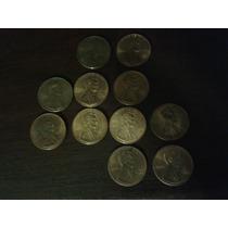 Lote De 11 Monedas De 1 Cent De Dollar (distintos Años)