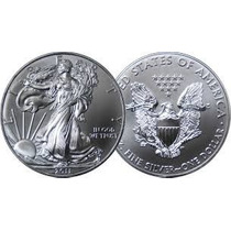 Usa Onza De Plata 1 Dollar 2015, 2013, 2011 Silver Eagle S/c
