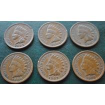 Usa Excelente Coleccion *6 Unidad* Indian Heat*1903-1908