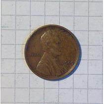 Estados Unidos 1 Centavo 1909 S Muy Linda Rarisima