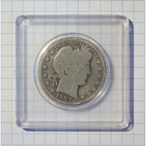 Estados Unidos ½ Dólar Plata 1907-o Encapsulada