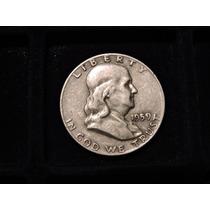 Moneda Estados U.medio Half Dolar Año 1959 D Plata Eeuu 1/2