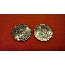 Moneda Usa Pte George Washington Un Dolar 2007 P