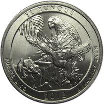 Estados Unidos - 1/4 Dolar 2012 P Puerto Rico El Yunque