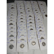 Monedas Usa Lote One Dime 10 Cent Usa ( 65 Monedas )