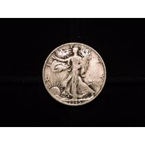 Moneda 1/2 Dolar Liberty 1945 Eeuu 12,5 Plata 900 Half Medio