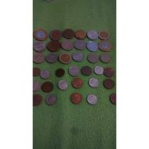 Colección De Monedas Brasil, Colombia, Etc