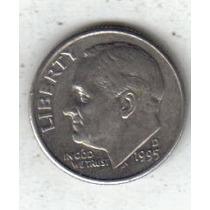 Estados Unidos Moneda 1 Dime Año 1995 D !!!