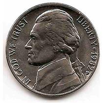 Moneda Estados Unidos De 5 Centavos.five Cents Año1982d