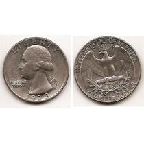 Moneda Estados Unidos De 25 Cent.cuarter Dolar Año 1973