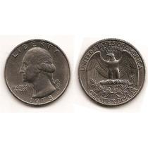 Moneda Estados Unidos De 25 Cent.cuarter Dolar Año 1978