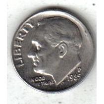Estados Unidos Moneda 1 Dime Año 1985 P !!