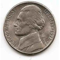 Moneda Estados Unidos De 5 Centavos.five Cents Año1972d