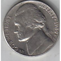 Estados Unidos Moneda De 5 Cents Año 1980 D !!!!