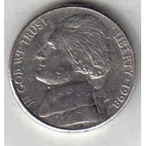 Estados Unidos Moneda De 5 Cents Año 1998 P !!