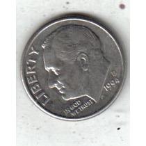 Estados Unidos Moneda De 1 Dime Año 1994 D !!!!