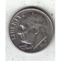 Estados Unidos Moneda 1 Dime Año 1998 D !!!
