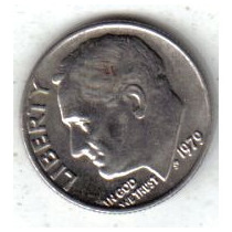 Estados Unidos Moneda 1 Dime Año 1979 !!