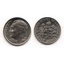 Moneda Estados Unidos De One 1 Dime 10 Centavos Año1997p(#)