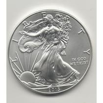 Numismatica1813.estados Unidos 2013 Onza De Plata Pura.unc
