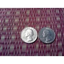 Estados Unidos Monedas De Un Cuarto De Dolar 1987-1988