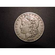 Estados Unidos Morgan Dolar 1889o Plata 900 26,7 Gramos