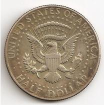 Estados Unidos, 1/2 Dollar, 1966. Kennedy. Plata. Xf