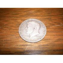 Half Dollar Del Año 1964 De Plata