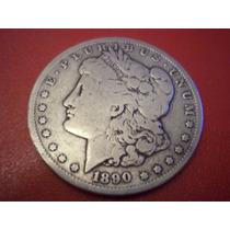 Usa 1 Dolar Plata Morgan1890