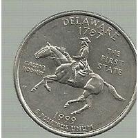 Usa 1/4 Dolar Delaware 1999