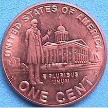 Spg - Estados Unidos 1 Cent 2009 Vida De Lincoln Capitolio