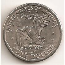 Estados Unidos, Dollar, 1979 D. Hombre En La Luna. Unc