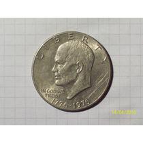 Estados Unidos 1 Dólar Conmemorativo 1776-1976 22,8 Gr 35 Mm