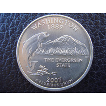 U. S. A. - Washington, Moneda D 25 Centavos (cuarto), 2007