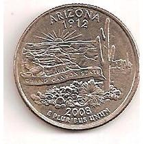 Estados Unidos 1/4 Dolar Arizona 2008