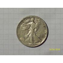 Estados Unidos 1/2 Dólar Plata 1943 D