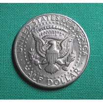 Estados Unidos Moneda De 1/2 Dolar 1971 Kennedy