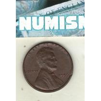 Eeuu Moneda De 1 Centavo Lincoln Año 1956 - Km A132 - Xf