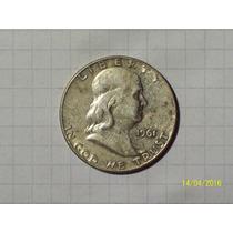 Estados Unidos 1/2 Dólar Plata 1961 D Muy Linda
