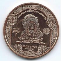 Moneda Onza De Cobre (avdp) Estados Unidos S/circular