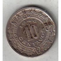 Mexico Moneda De 10 Centavos Año 1946 !!!!