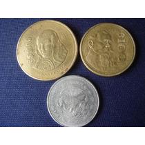 Monedas De México-1-100 Y 1000 Pesos