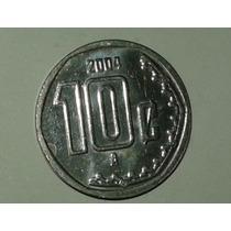 Moneda Mexico 10 Centavos 2004 Caballito
