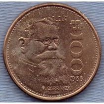 Mexico 100 Pesos 1988 * Venustiano Carranza *