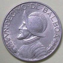 Moneda 1 Decimo De Balboa - Año 1962 - Panama