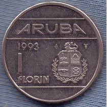 Aruba 1 Florin 1993 * Antillas Holandesas *