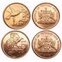 Trinidad Y Tobago 1 Y 5 Cent 2003 (unc)