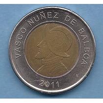 Panamá, Moneda De 1 Balboa Del Año 2011 - Km#141