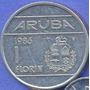 Aruba 1 Florin 1986 * Antillas Holandesas * Beatrix *
